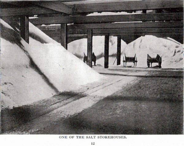 25. One of the Salt Storehouses. Sometimes salt was stored in crushed form, once an order came through the salt was then bagged. Seddon's.jpg