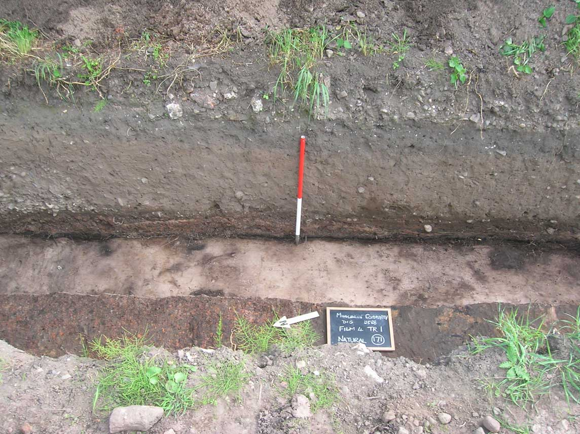 Floor layers, Trench 1