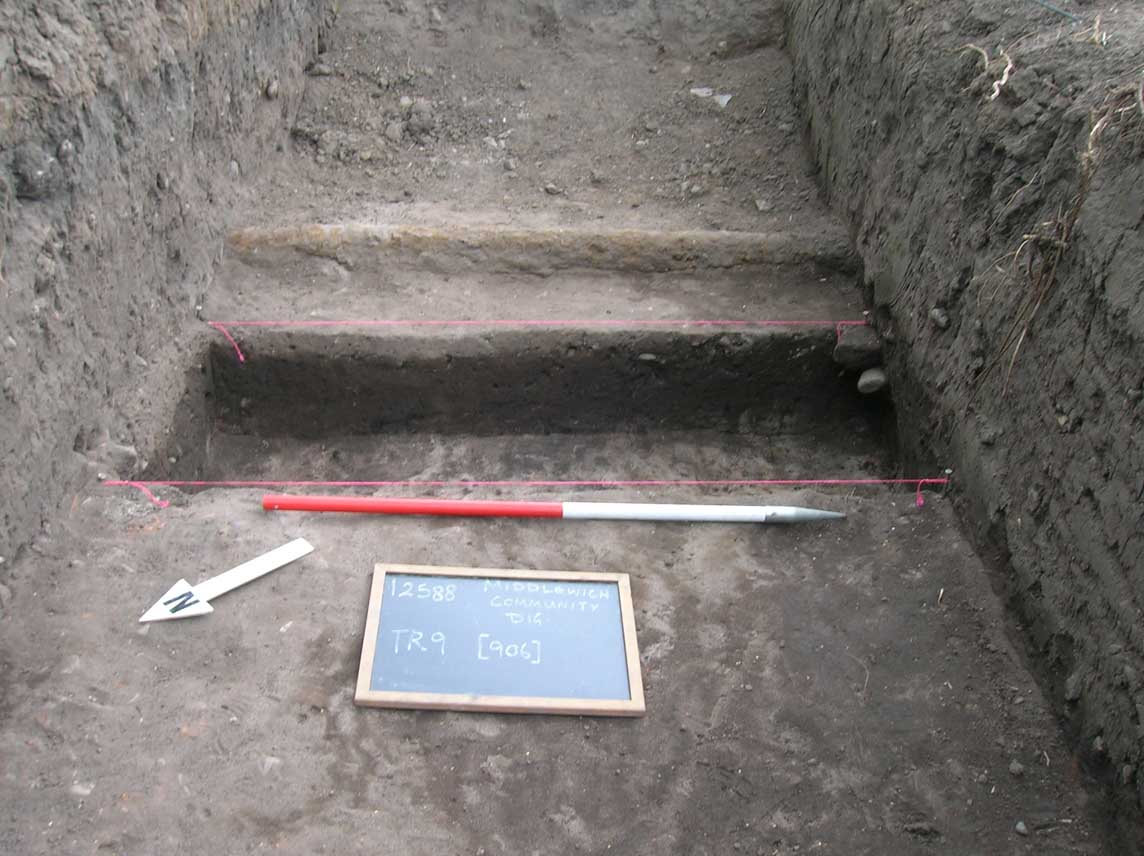 Phase 5 buried soil Trench 9