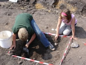 Middlewich Community Dig Test Pits