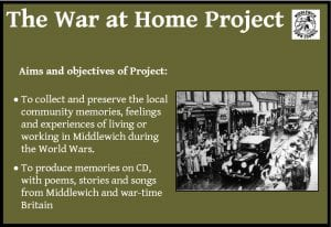 War At Home Project – We Need You