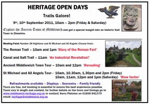 Heritage Open days, Tours Galore! – 9th, 10th September 2011