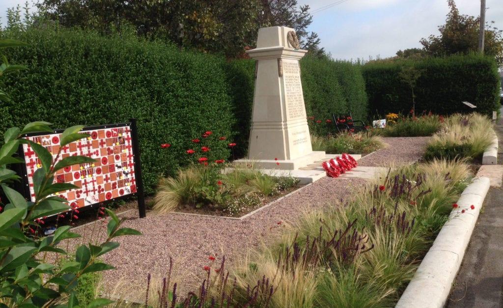 brunner mond memorial garden middlewich cheshire